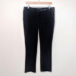 Dalia Velvet Cigarette Pants